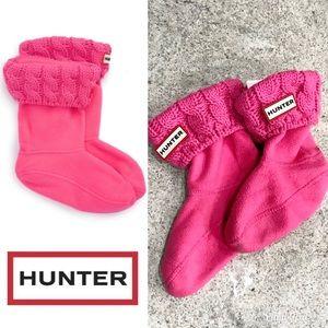 Hunter Original Kids 6 Stitch Cable Knit Boot Sock